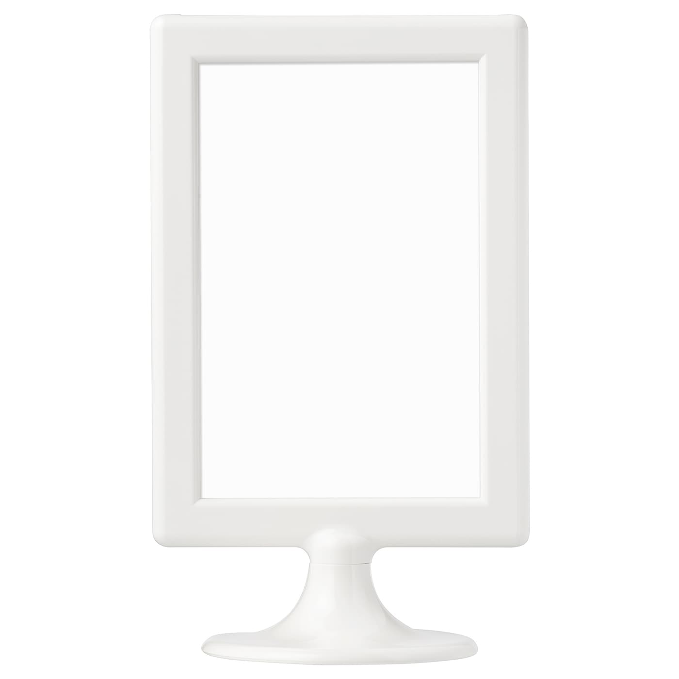 Cadre Photo Sur Pied Ikea tolsby cadre pour 2 photos - blanc 10x15 cm