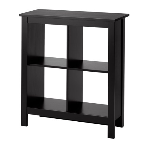 Tomn s tag re brun noir ikea for Ikea meuble 4 carre