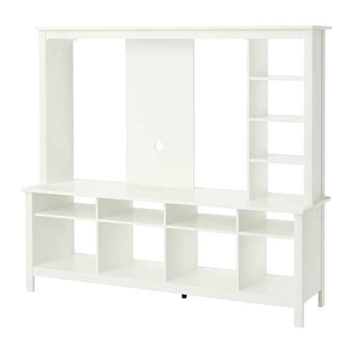 Tomn s meuble tv blanc ikea for Meuble blanc ikea