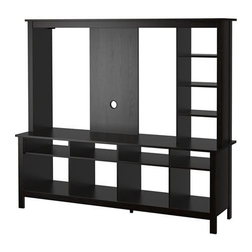 TOMNÄS Meuble TV  brun noir  IKEA -> Meuble Tv Noyer Ikea
