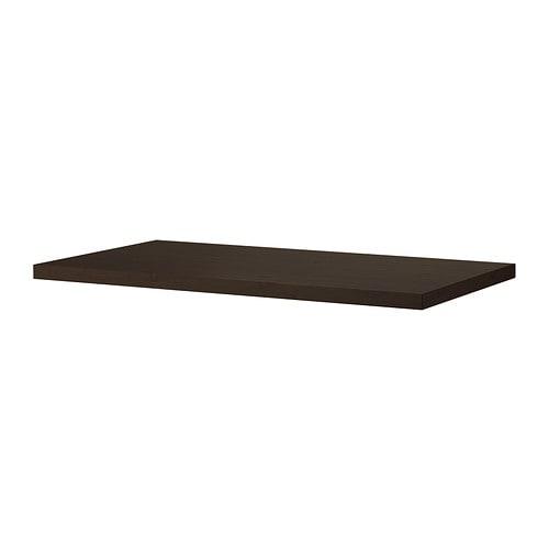 Tornliden plateau brun noir 150x75 cm ikea - Plateau pour lit ikea ...