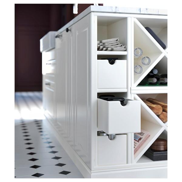 TORNVIKEN Boîte, blanc cassé, 16x34x15 cm