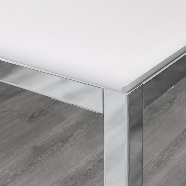 Torsby Table Chrome Verre Blanc En Ligne Ou En Magasin Ikea