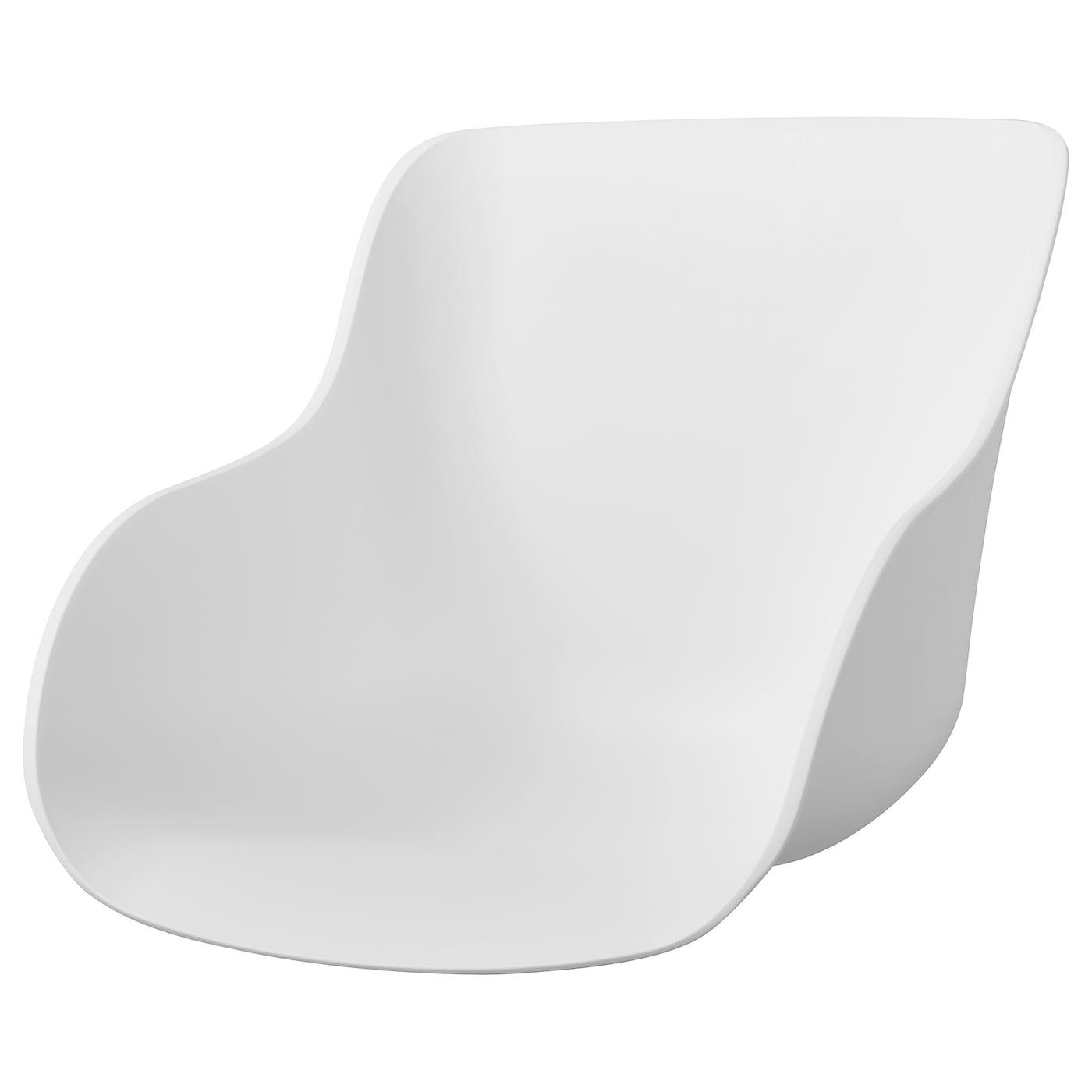 TORVID Chaise blanc, chêne