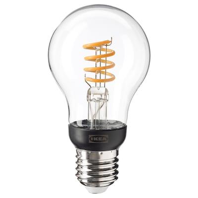 TRÅDFRI Ampoule LED E27 250 lumen, sans fil à variateur d'intensité blanc chaud/globe transparent