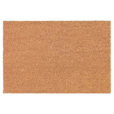 TRAMPA paillasson naturel 60 cm 40 cm 16 mm 0.24 m² 5900 g/m²