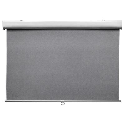 TRETUR Store à enrouleur occultant, gris clair, 100x195 cm