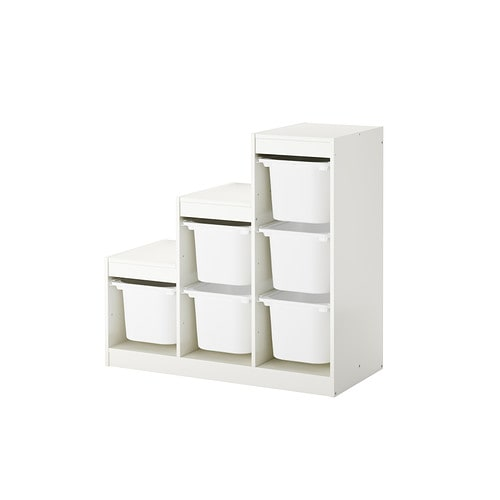 trofast combi rangement bo tes blanc ikea. Black Bedroom Furniture Sets. Home Design Ideas