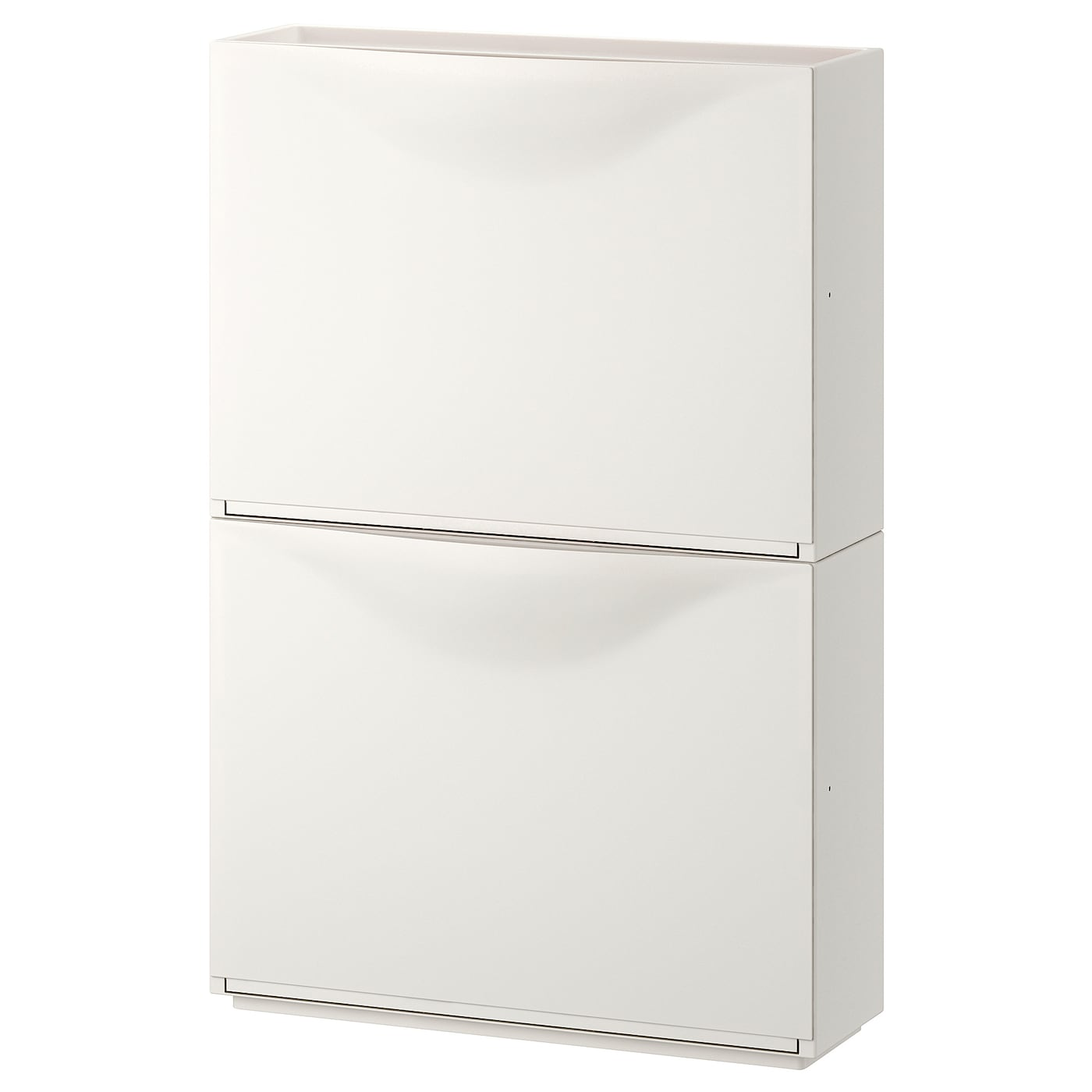 Trones Armoire A Chaussures Rangement Blanc 52x39 Cm Ikea