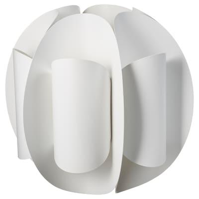 TRUBBNATE Abat-jour suspension, blanc, 38 cm
