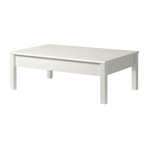 Trulstorp table basse blanc ikea for Table basse blanc ikea