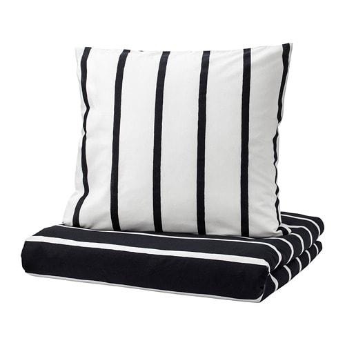 tuvbr cka housse de couette et 2 taies 240x220 65x65 cm ikea. Black Bedroom Furniture Sets. Home Design Ideas