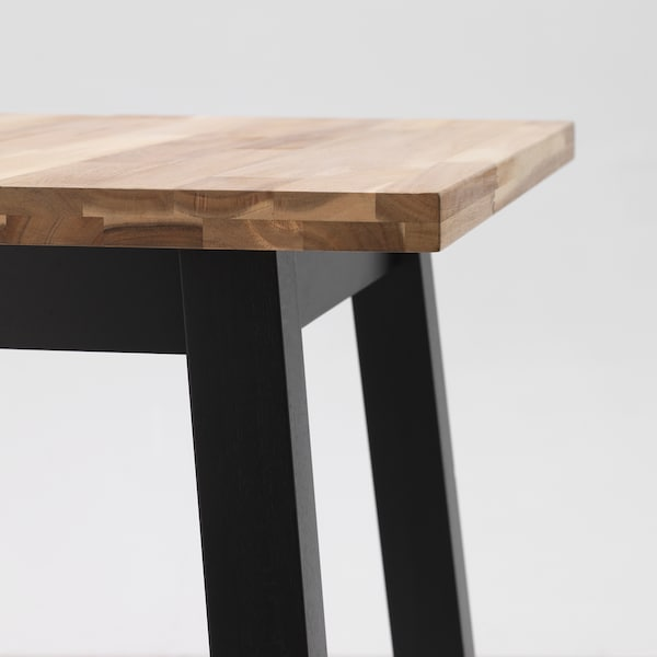 Tybyn Table De Bar Acacia Noir Ikea