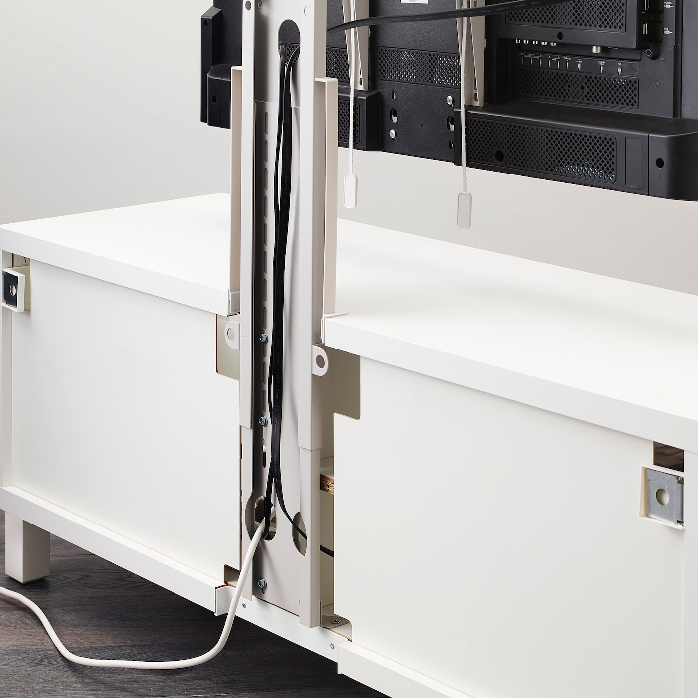 """Rehausse Meuble Tv Ikea uppleva support pour tv, pivotant - gris clair 37-55 """""""