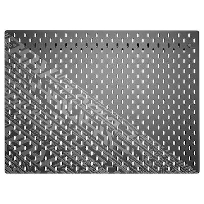 UPPSPEL Panneau perforé, noir, 76x56 cm