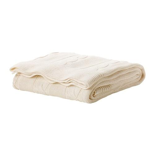 ursula plaid blanc ikea. Black Bedroom Furniture Sets. Home Design Ideas
