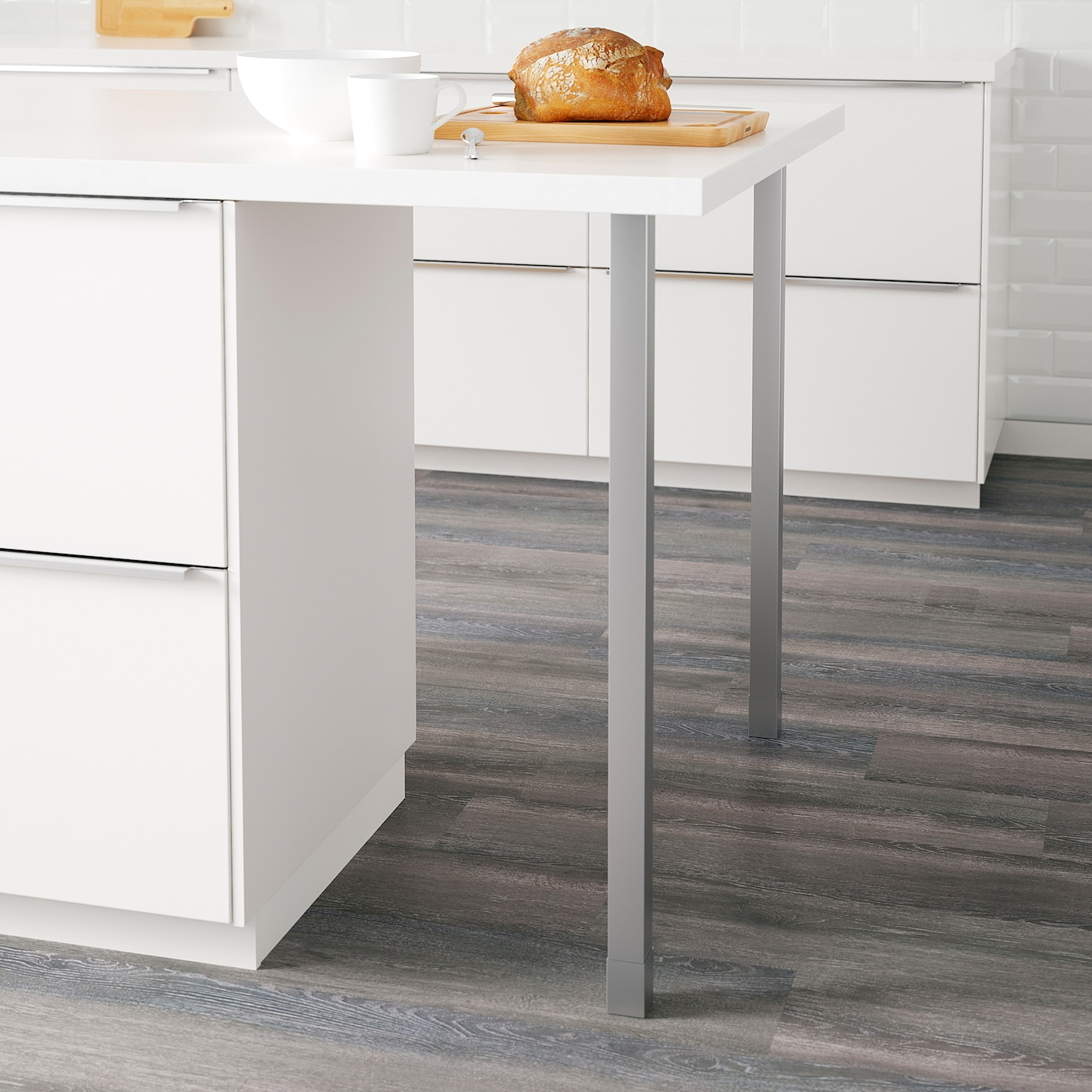 Utby Pied Acier Inoxydable 86 Cm Ikea