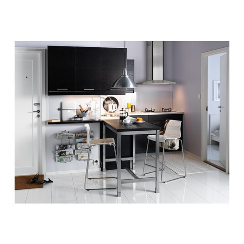 Table de bar utby for Table de cuisine haute ikea