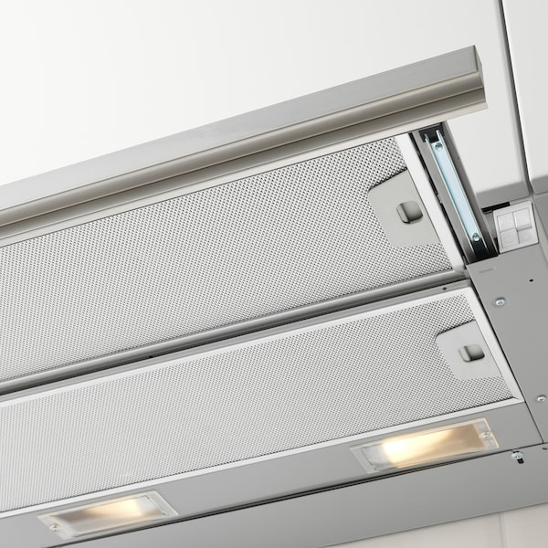 UTDRAG hotte aspirante intégrée acier inoxydable 60.0 cm 21.5 cm 38.7 cm 64.4 cm 109.0 cm 7.60 kg