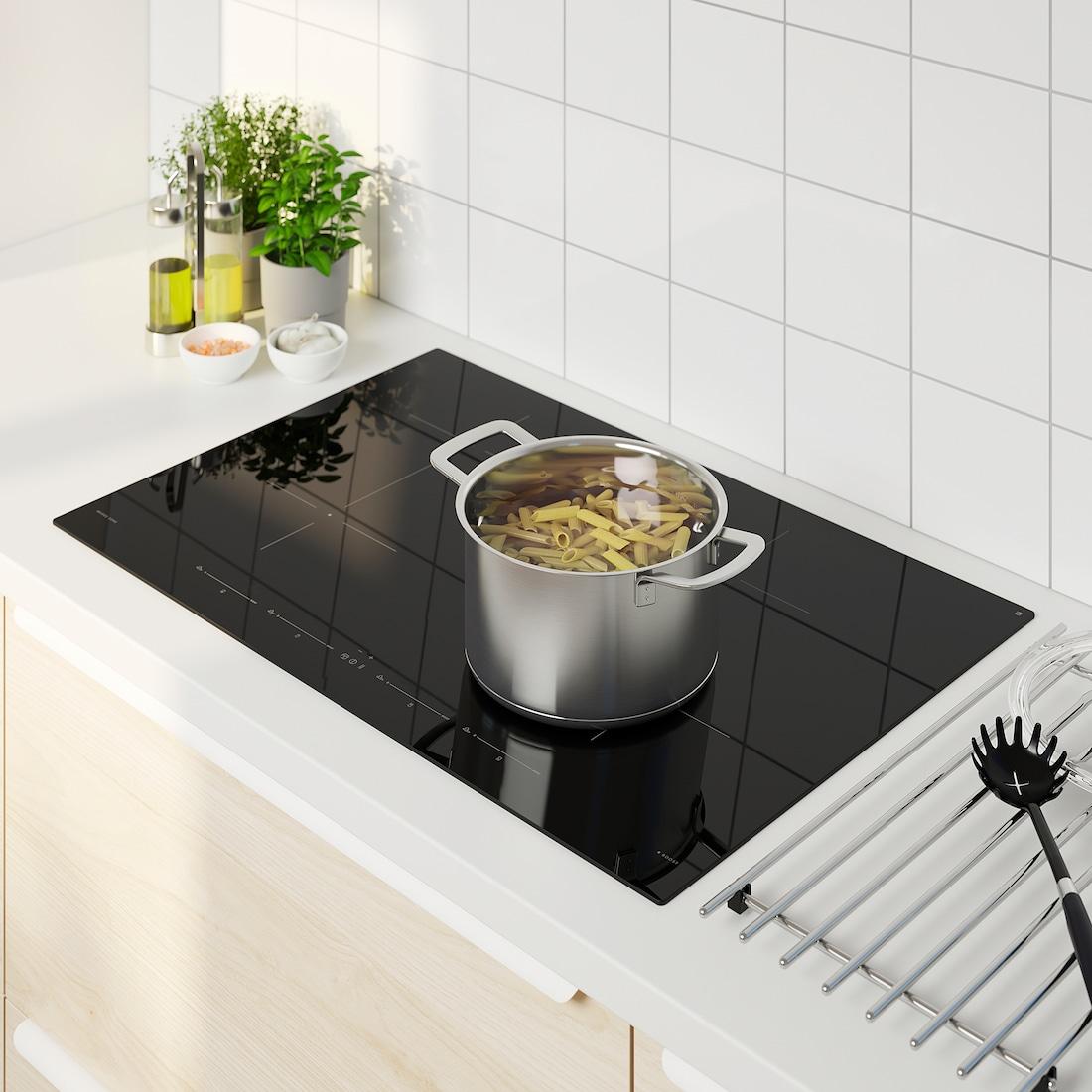 utnÄmnd table de cuisson induction  ikea 500 noir  ikea