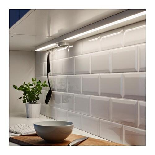 utrusta clairage plan travail led blanc 80 cm ikea. Black Bedroom Furniture Sets. Home Design Ideas