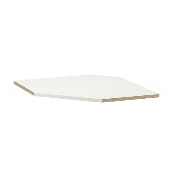 Tablette élément Mural D Angle Utrusta Blanc