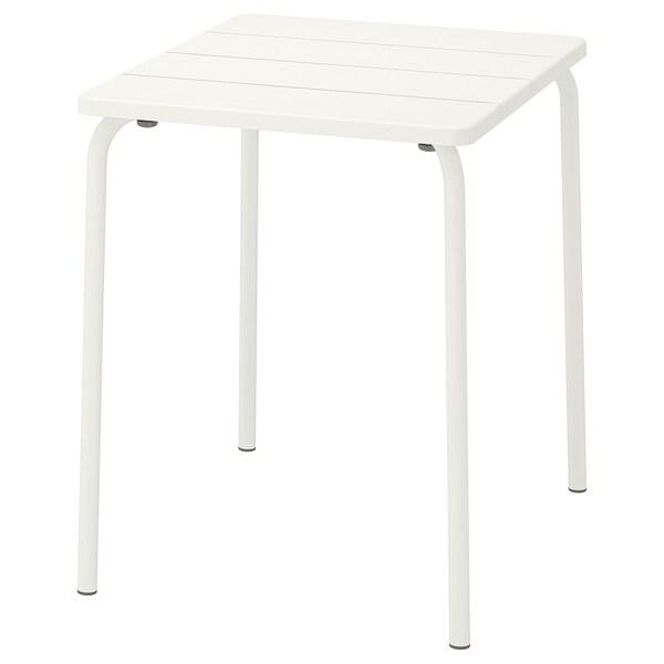 Table, extérieur VÄDDÖ blanc