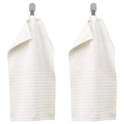 VÅGSJÖN Essuie-main, blanc, 30x50 cm