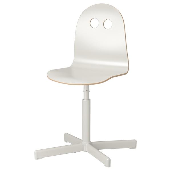 VALFRED / SIBBEN Chaise de bureau enfant, blanc
