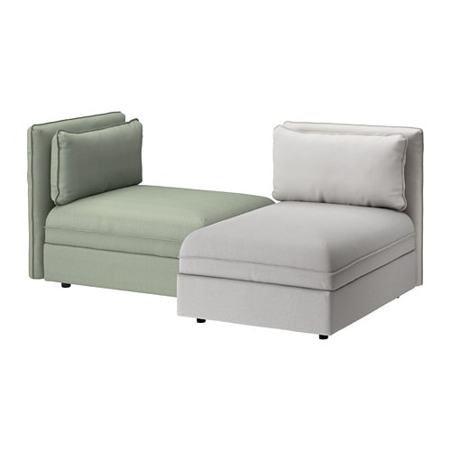 Vallentuna canap 2 places ikea for Ikea sofas en cuir
