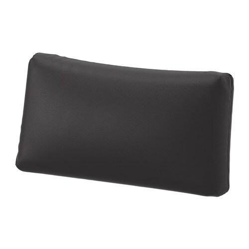 vallentuna coussin dossier murum noir ikea. Black Bedroom Furniture Sets. Home Design Ideas