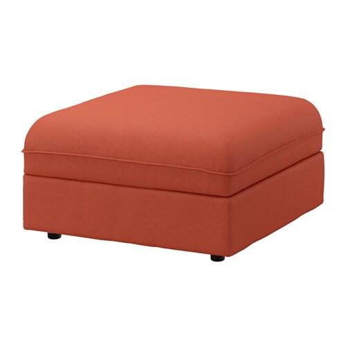 Vallentuna housse module si ge avec rangement orrsta orange ikea - Ikea housse rangement ...