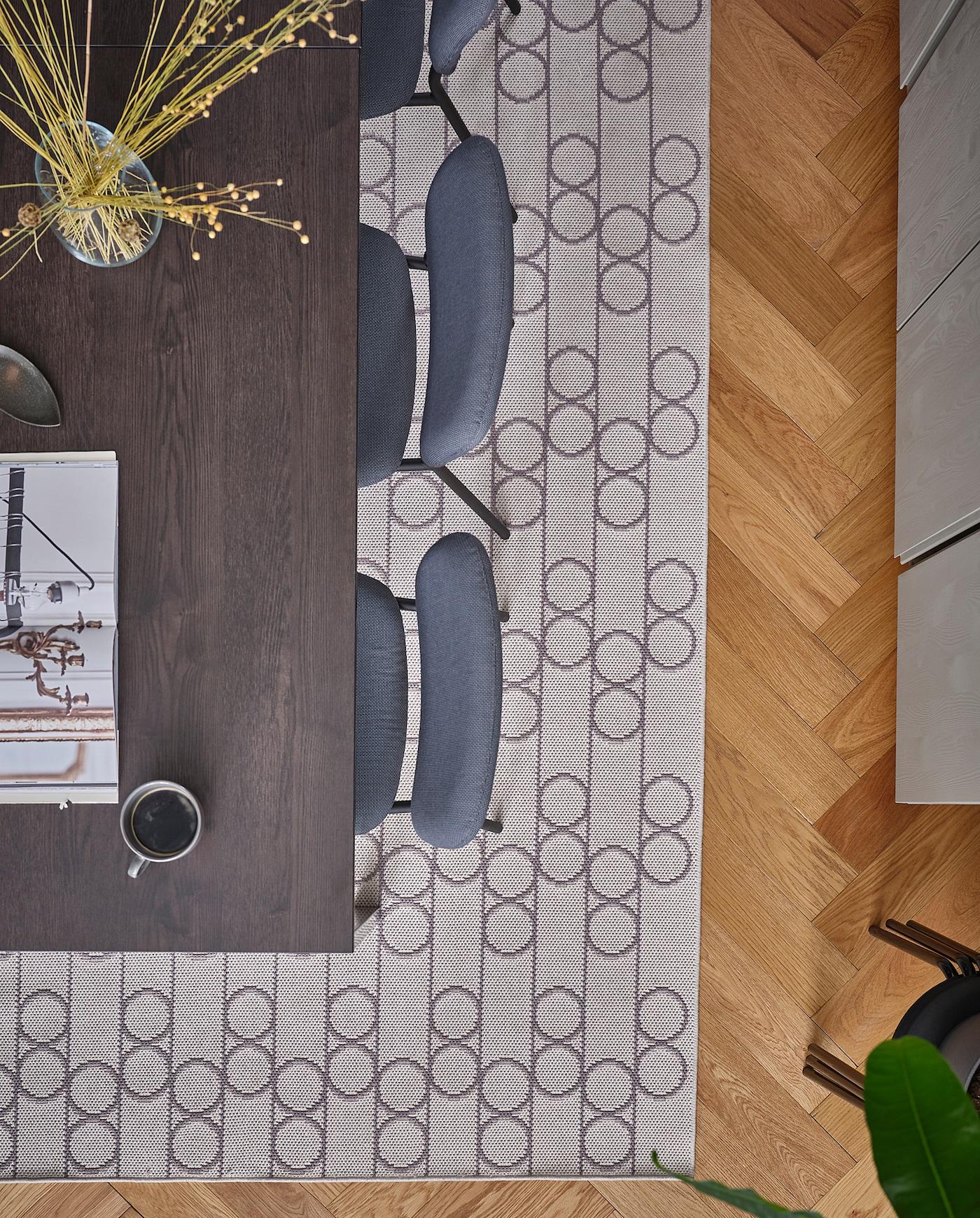 KARLJAN Chaise, gris foncé, Kabusa gris foncé IKEA