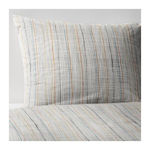 v r rt housse de couette et 2 taies 240x220 65x65 cm ikea. Black Bedroom Furniture Sets. Home Design Ideas