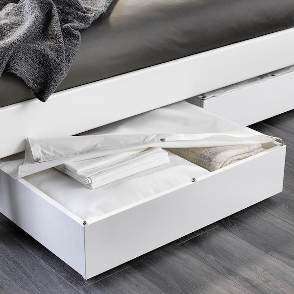 VARDÖ Rangement pour lit, blanc, 65x70 cm