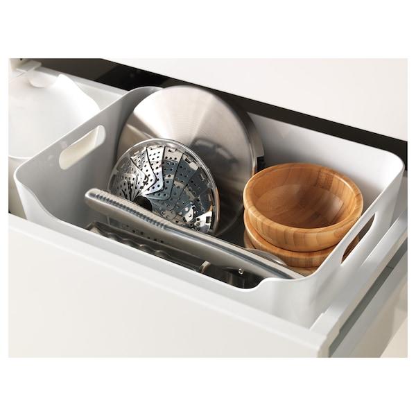 VARIERA boîte blanc 24 cm 17 cm 10.5 cm