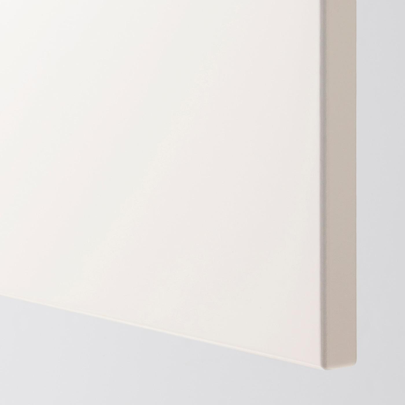 Epaisseur Caisson Cuisine Ikea veddinge porte - blanc 60x80 cm
