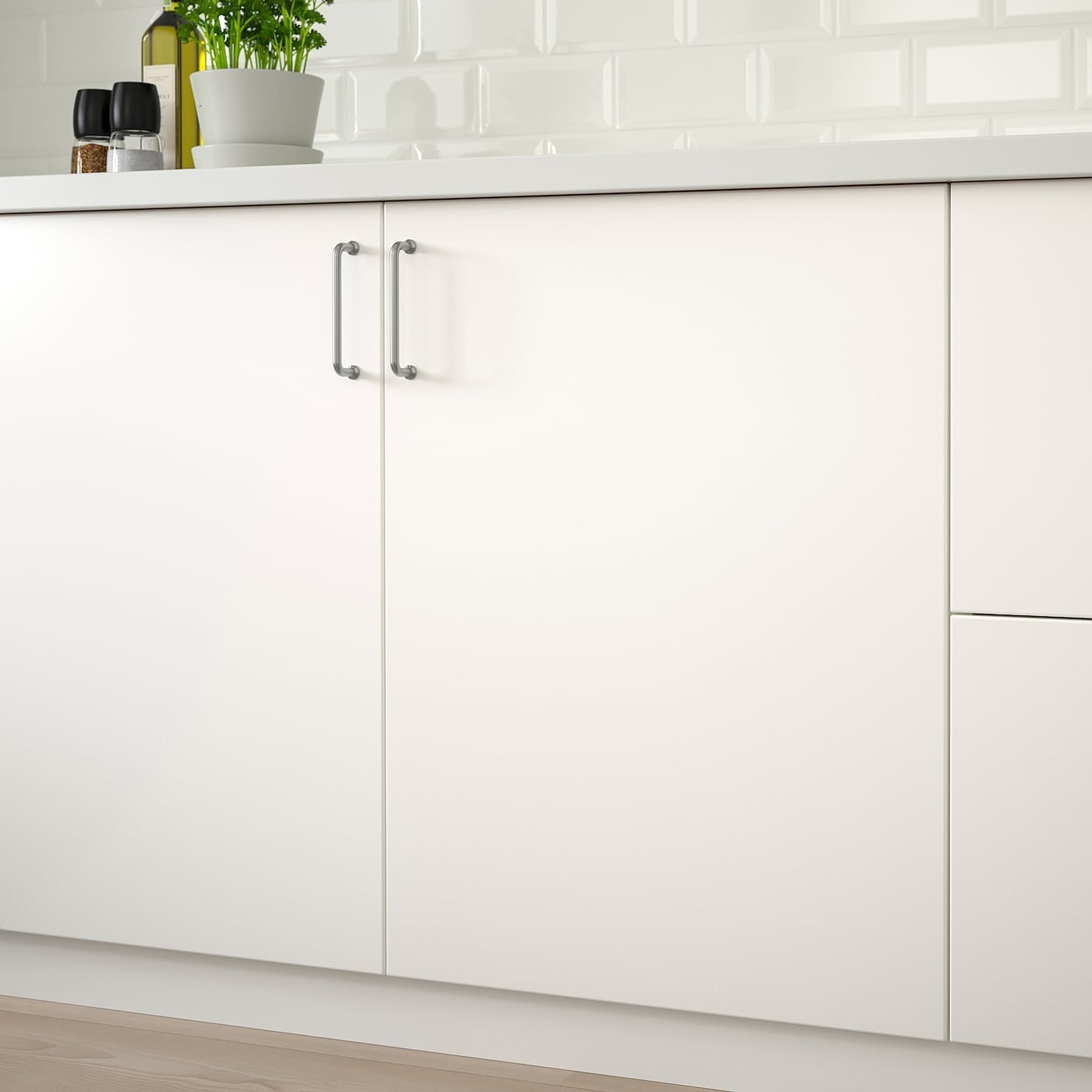 VEDDINGE Porte - blanc 15x15 cm