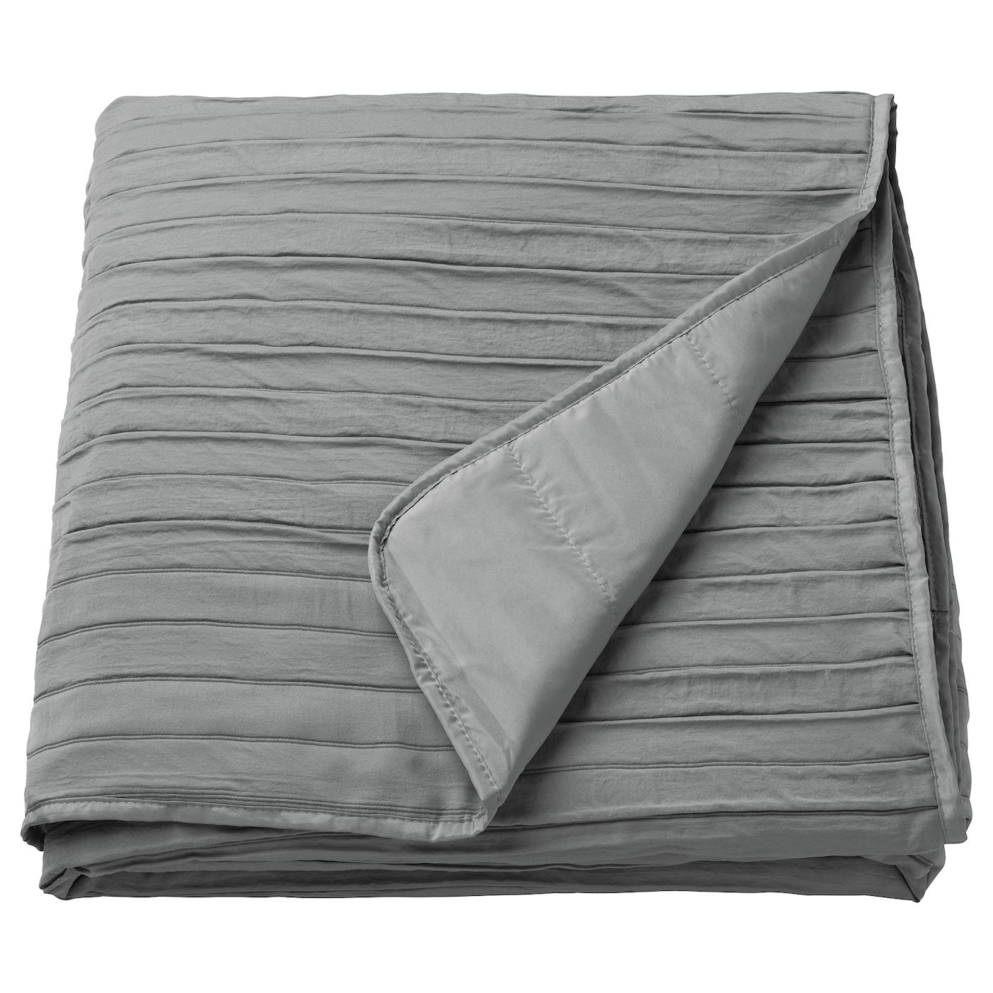 VEKETÅG Couvre-lit - gris - IKEA
