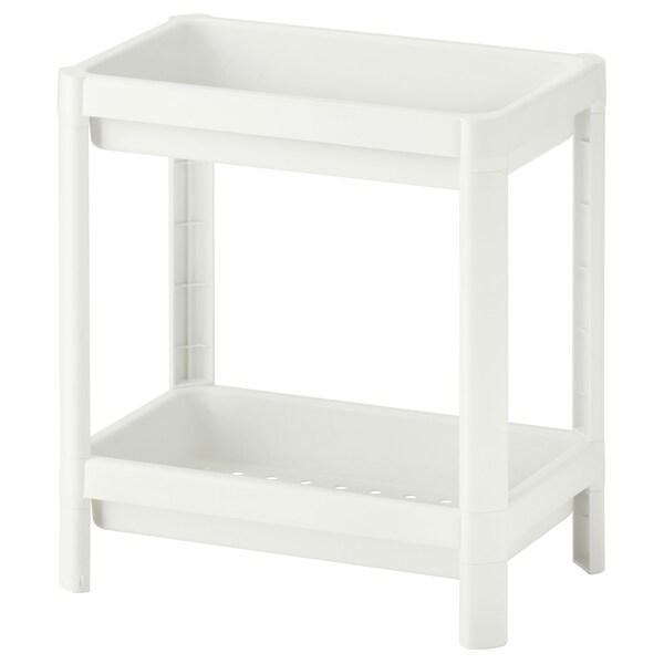 VESKEN Étagère, blanc, 36x23x40 cm