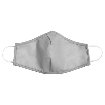 VETSKAP Masque barrière, disp non-médical, gris clair, M