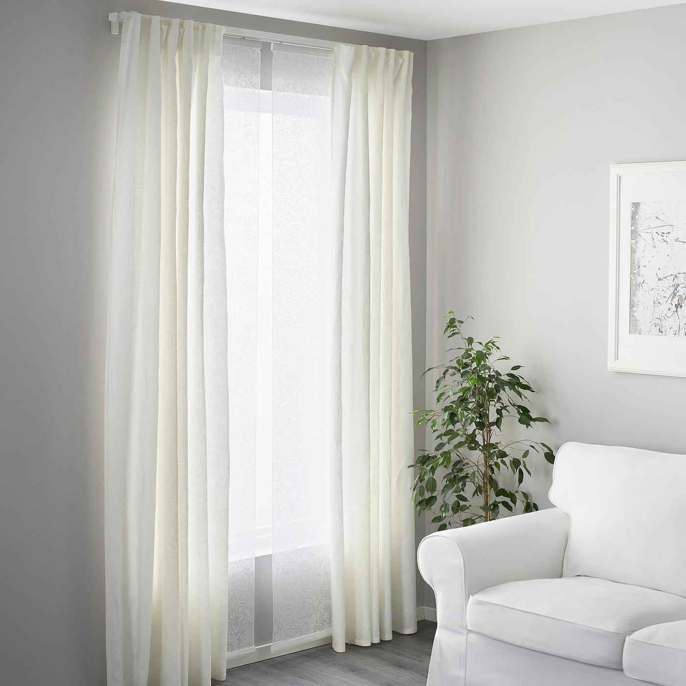 rideau rail Ikea Kvartal rideaux rail aluminium couleurs; 1-chaleur; 140cm