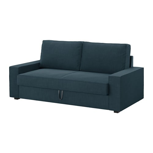 vilasund convertible 3 places hillared bleu fonc ikea. Black Bedroom Furniture Sets. Home Design Ideas