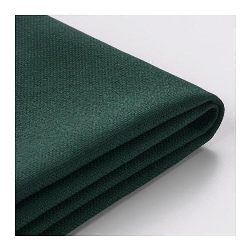 vimle housse canap d 39 angle 3 places sans accoudoir gunnared vert fonc ikea. Black Bedroom Furniture Sets. Home Design Ideas