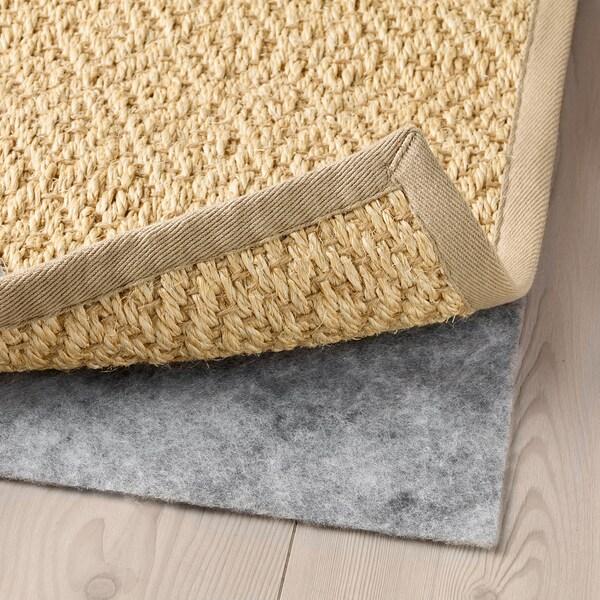 VISTOFT Tapis tissé à plat, naturel, 200x300 cm