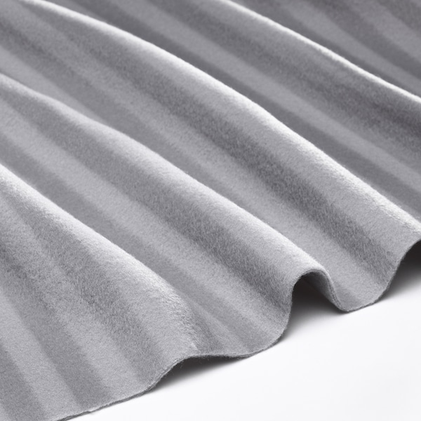VITMOSSA Plaid, gris, 120x160 cm