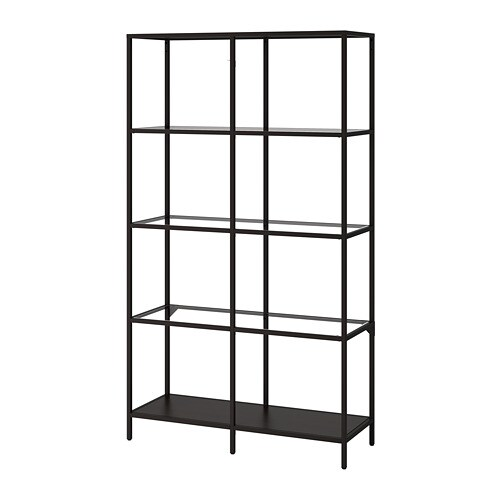 vittsj tag re brun noir verre ikea. Black Bedroom Furniture Sets. Home Design Ideas