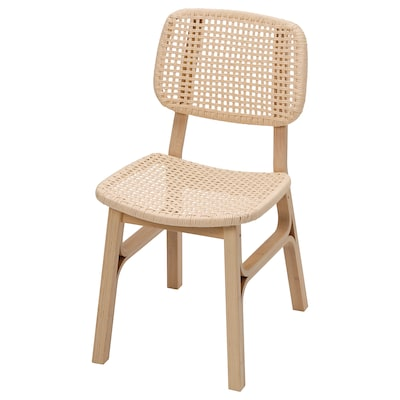 VOXLÖV Chaise, bambou clair
