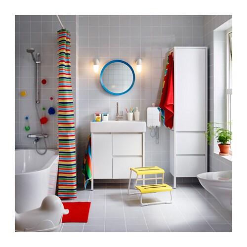 YDDINGEN Armoire IKEA Crochets pour serviettes ou objets que vous souhaitez garder à portée de main.