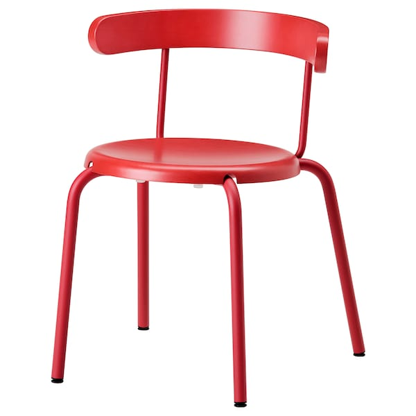 ikea chaise rouge salle à manger